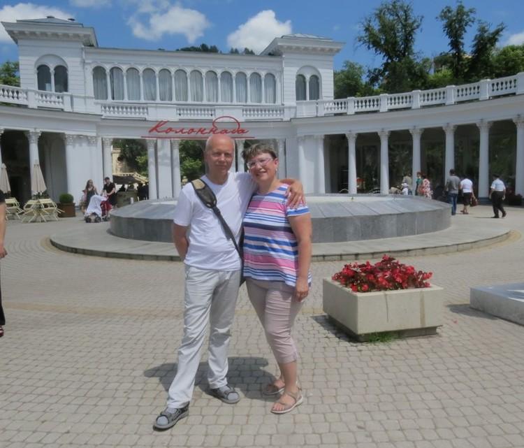 Сергей Демин познакомился со своей женой Ларисой в поезде. Фото: с сайта naodnom.ru