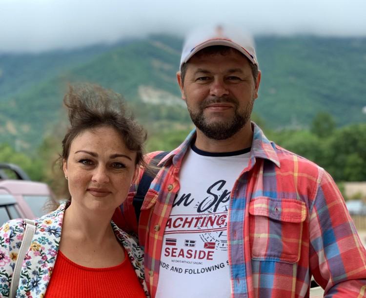 Автор с супругой пожаловали в город-курорт Геленджик. Фото Сергей АРЧАКОВ