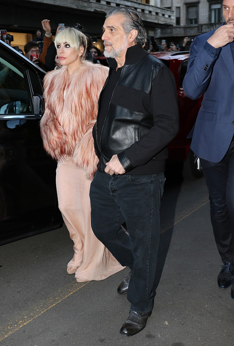 Леди Гага с отцом
