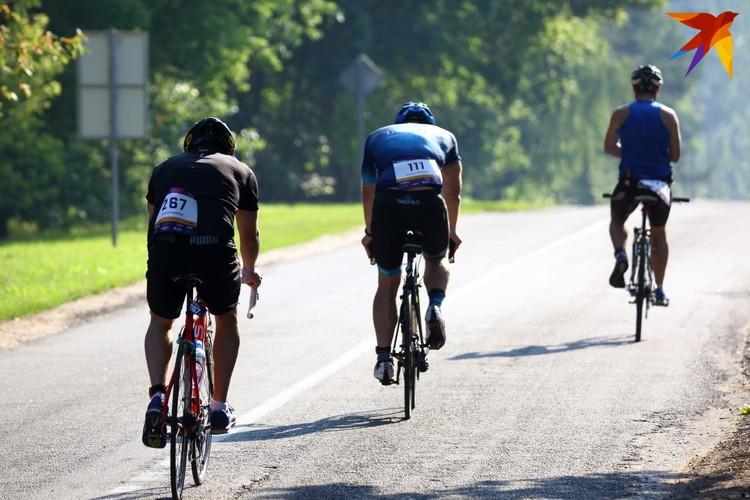 После велогонки участники преодолевали третий этап бег