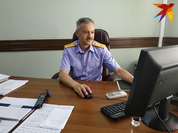 Заместитель руководителя СУ СКР по Саратовской области, генерал-майор юстиции Олег Мезрин