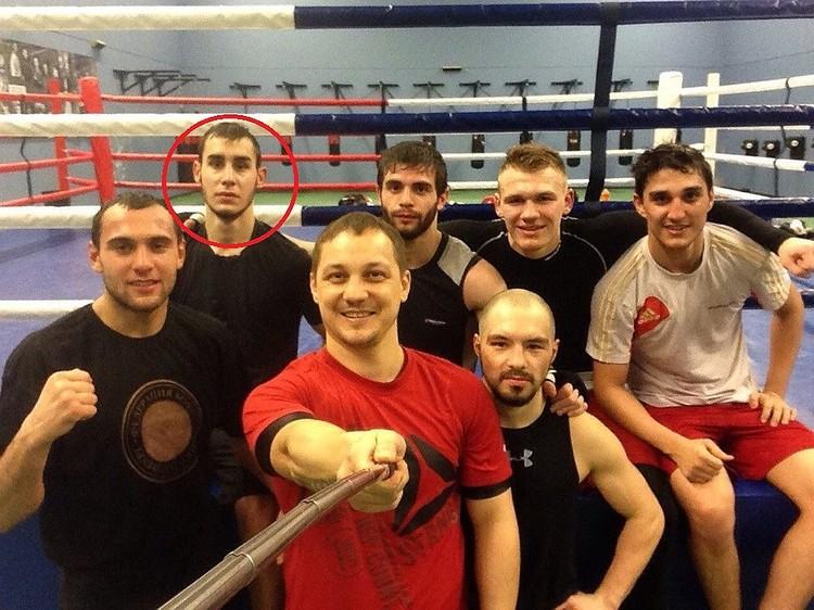 Дадашев тренировался в Петербурге