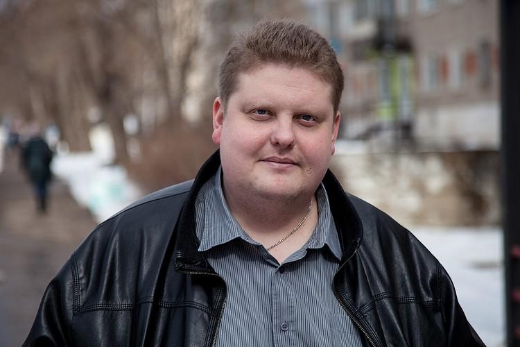 Так Алексей выглядел еще полтора года назад