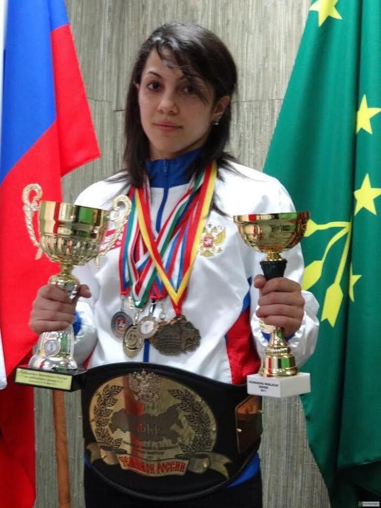 Фатима Жагупова. Фото: Московская федерация кикбоксинга