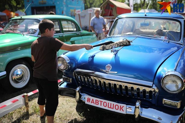 Любовь к автомобилям прививается с детства