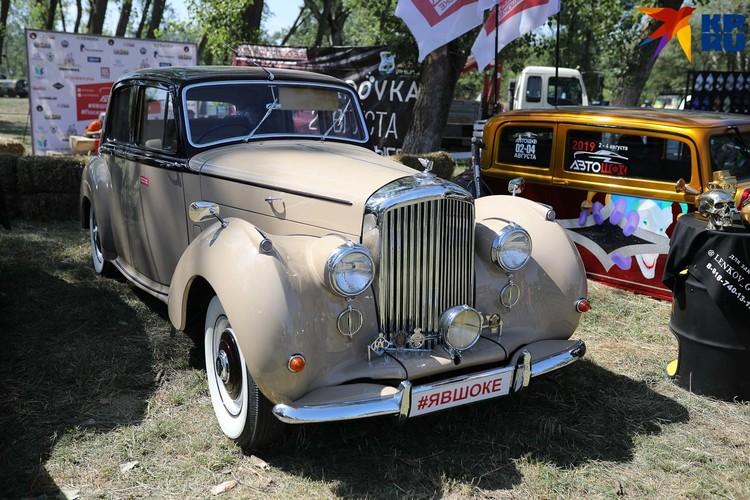 Этот Bentley неоднократно появлялся на Автошоке