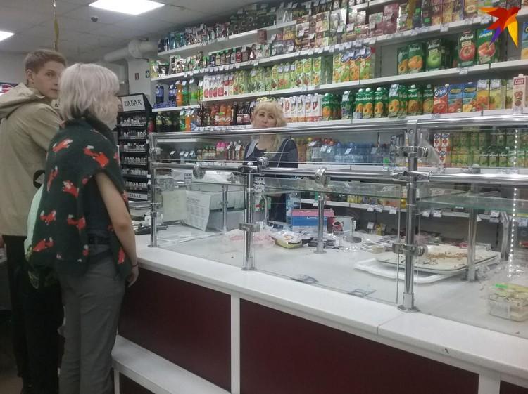 Прилавки в магазинах в Ачинске