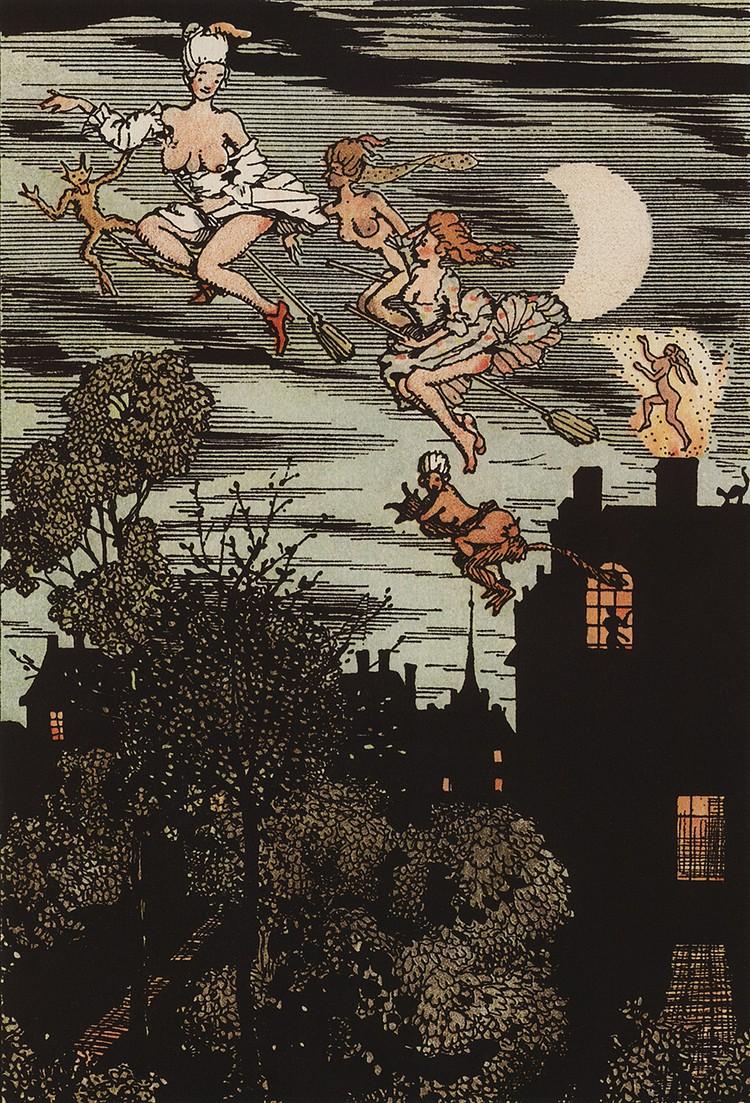 «Книга маркизы», иллюстрация, 1918 год