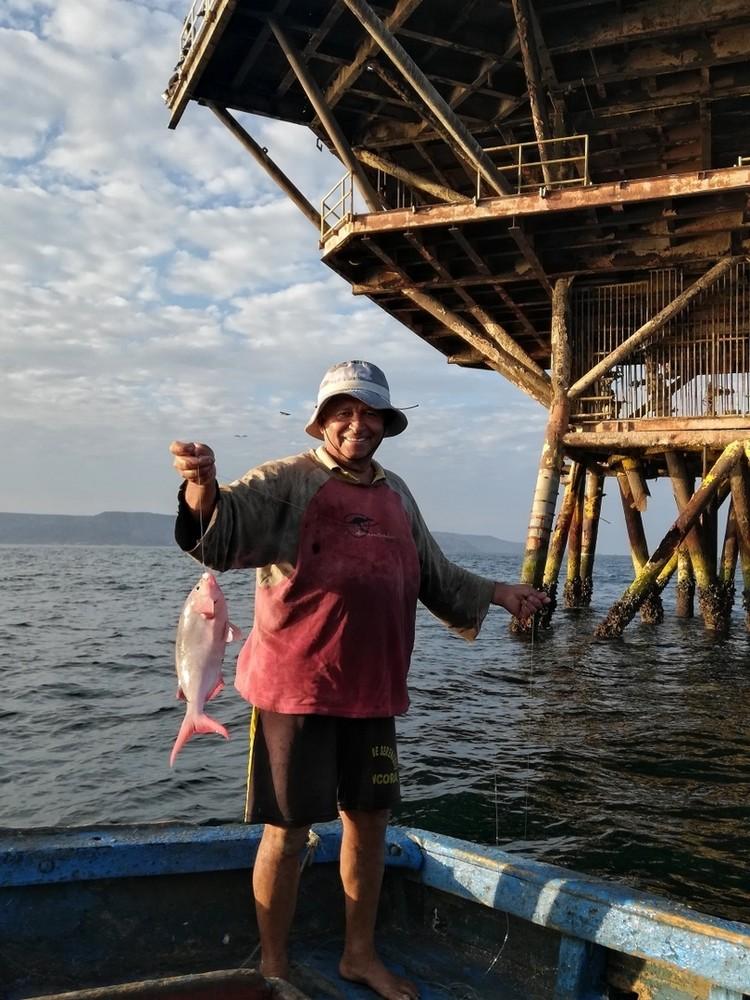 На рыбалке с перуанцем