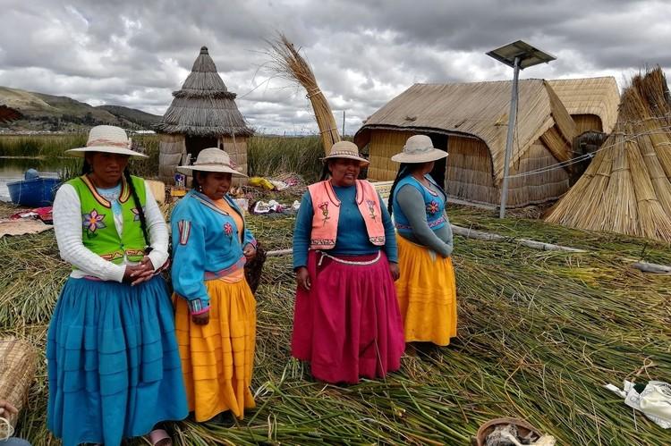 Племя индейцев Урос