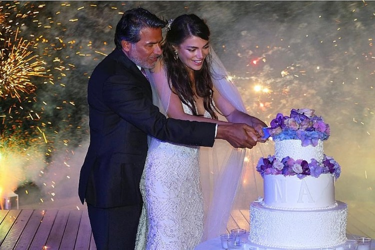 Свадьбу сыграли в 2017 году