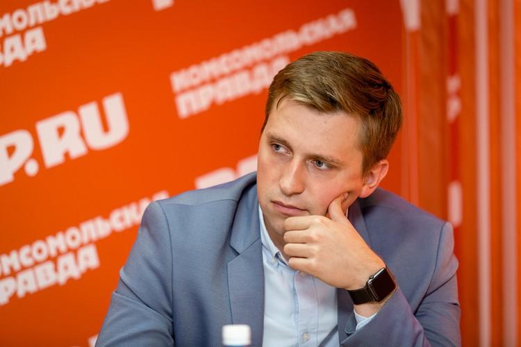 Сергей Григорьев, руководитель отдела маркетинга и рекламы строительной компании «Легион»