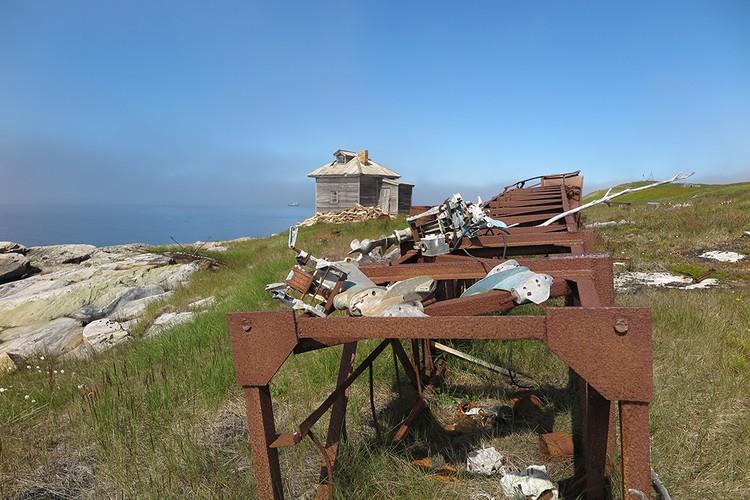 На арктических островах много мусора