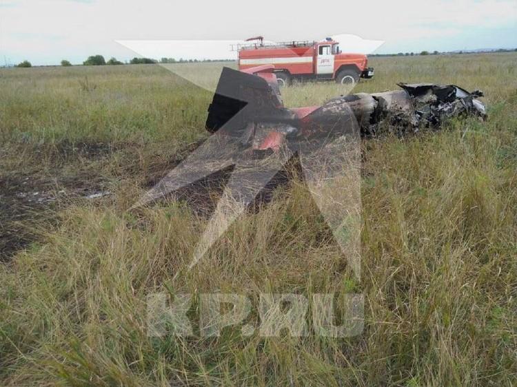 Пилота не спасли. Фото: очевидцы