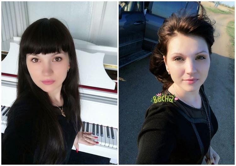 Супруга депутата Елена была молодой и красивой. Фото: соцсети.