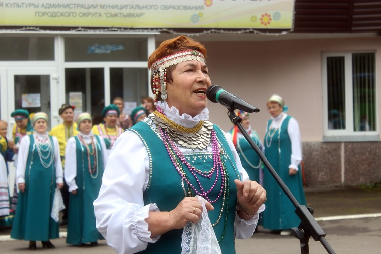 Народные коллективы собирали тех, кто любит мелодии старины