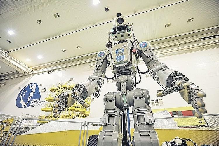 Робот FEDOR. Фото: пресс-служба Роскосмоса