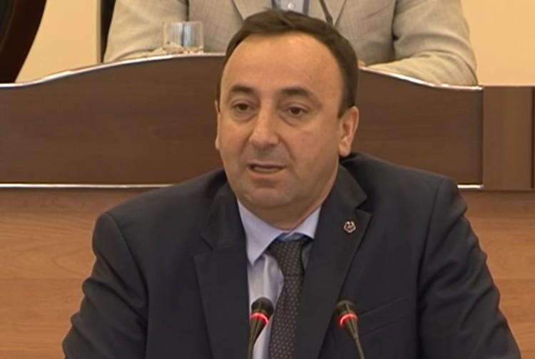 Председатель Конституционного суда Армении Грайр Товмасян.