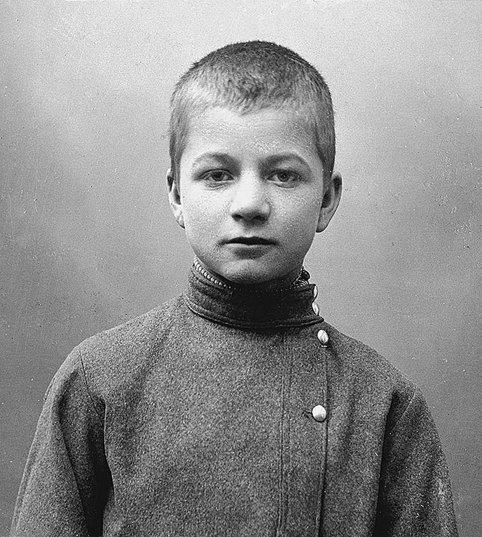 Андрей Платонов в детстве