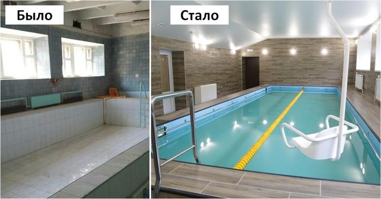 Новый бассейн школы №256 Фото: https://vk.com/olegbekmemetev
