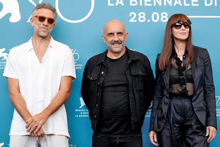 """Моника Беллуччи в и Венсан Кассель представили новую, перемонтированную версию культового фильма """"Необратимость""""."""