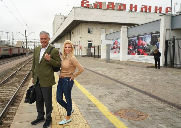 Во Владимире и Суздале ждала обширная официальная и культурная программа. Фото: Посольство США в Москве