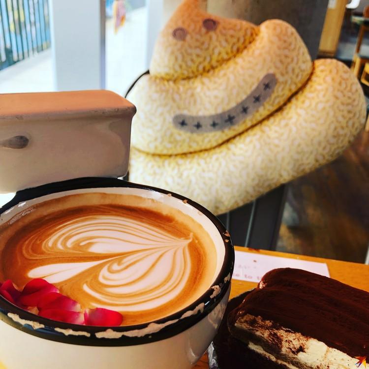 Кофе в одном из заведений Сеула