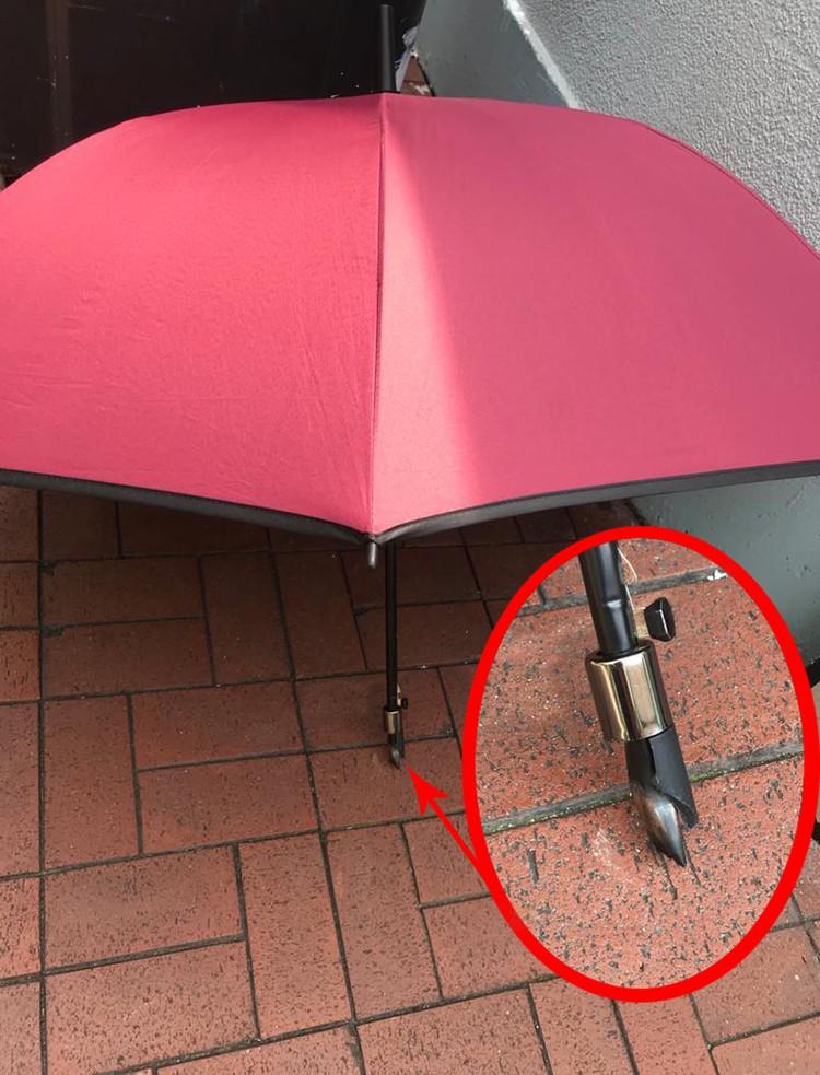 Гонконгский зонтик. Фото: предоставлено полицией Гонконга.