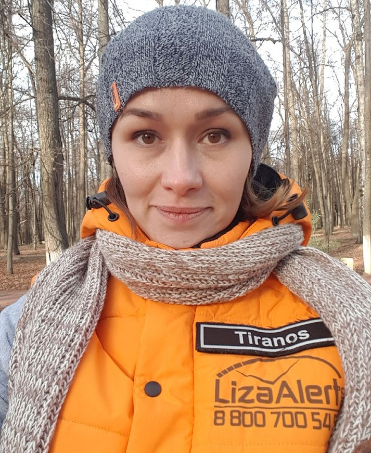 Региональный представитель отряда «Лиза Алерт» в Челябинской области Лина Есенина. Фото из личного архива героев материала.