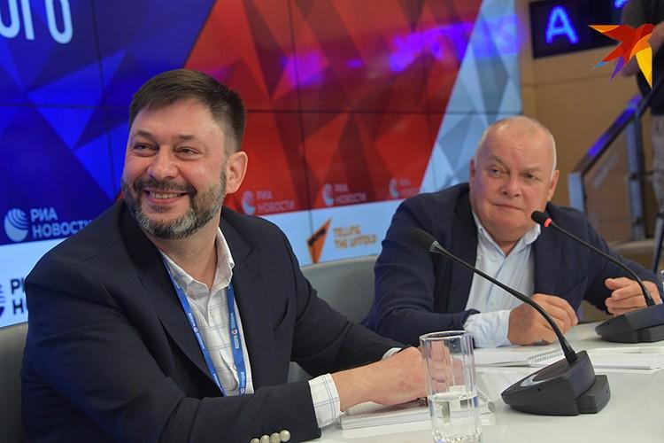 Кирилл Вышинский и Дмитрий Киселев