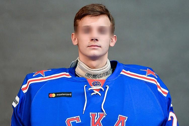 Старший сын Соколова тоже был голкипером Фото: СКА