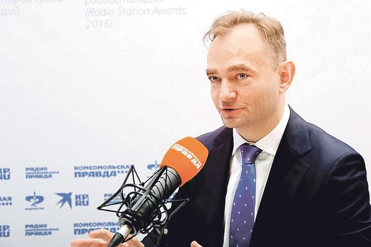 Замглавы Минкомсвязи Максим Паршин