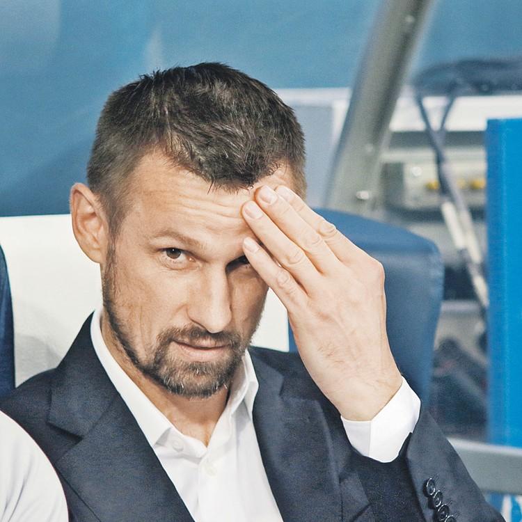 Наставник «Зенита» Сергей Семак впервые выступит в Лиге чемпионов как тренер.