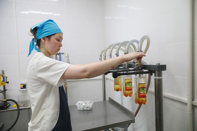 В ИК-22 производят газировку с натуральными сиропами