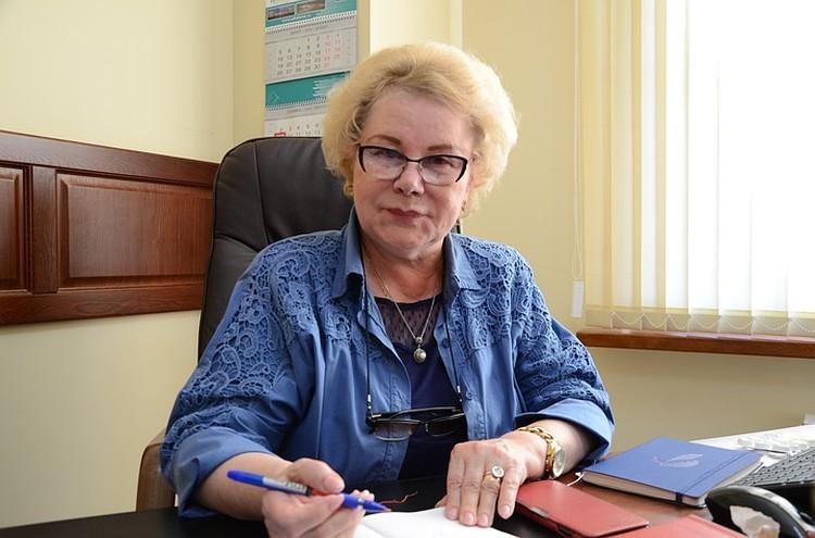 """Президент фонда """"Вольное Дело"""" Тамара Румянцева"""