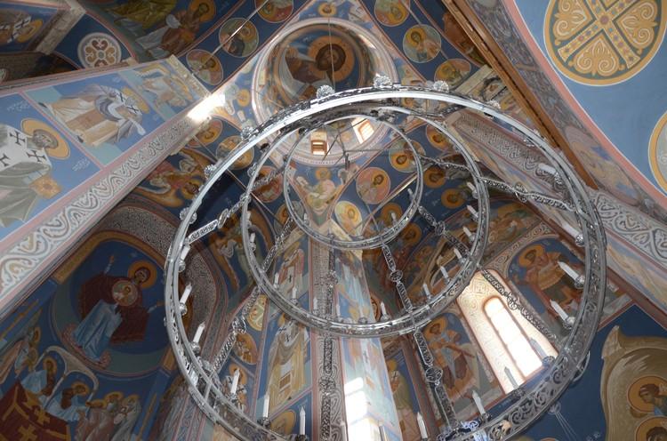 Роспись в храме святого Владимира
