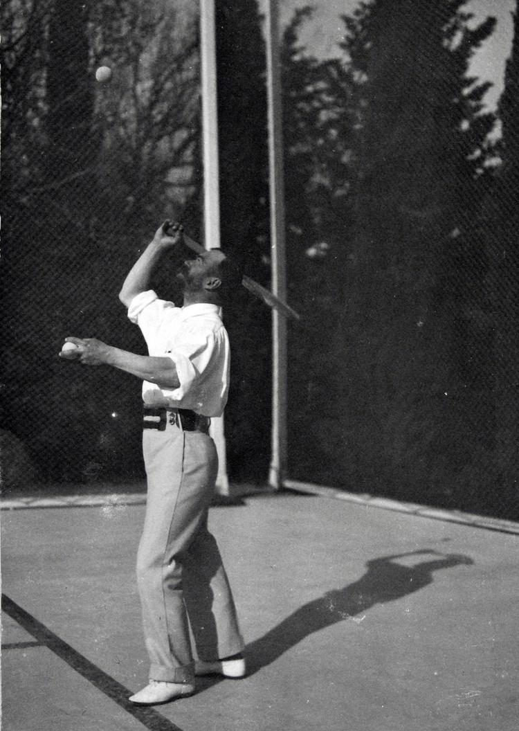 Николай II играет в теннис. Фото: Пресс-служба ФСО России