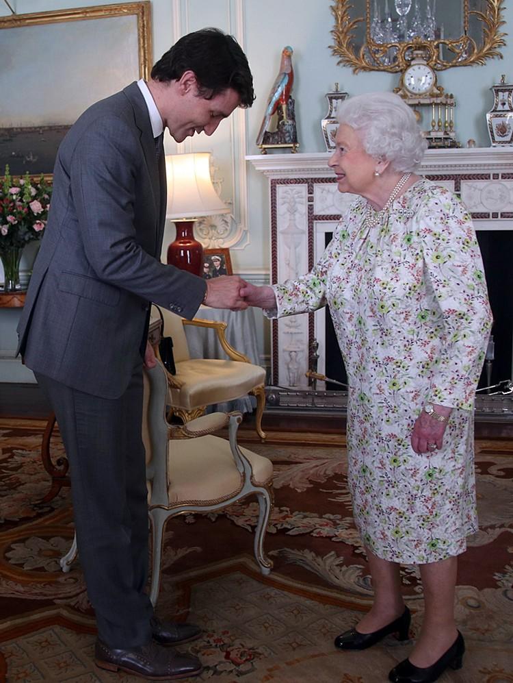 Джастин Трюдо отметил, что он - 12-й глава правительства Канады, сменившийся за время правления королевы