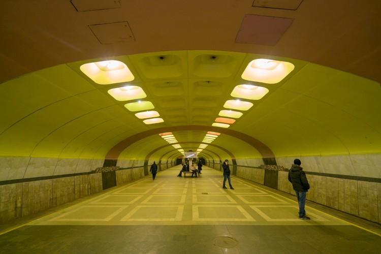 Станция «Канавинская» в Нижнем Новгороде. Открыта в 1993 году. Фото: Christopher Herwig/FUEL