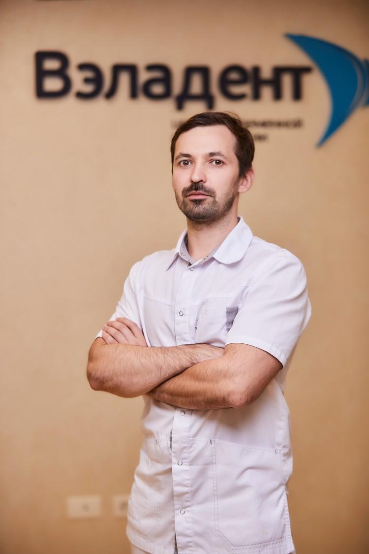 ЮРИЙ ПАНКОВ, главный врач центра дентальной имплантации «Вэладент» на Каслинской