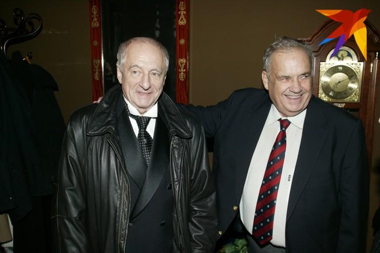 Два выдающихся режиссера - Марк Захаров и Эльдар Рязанов.