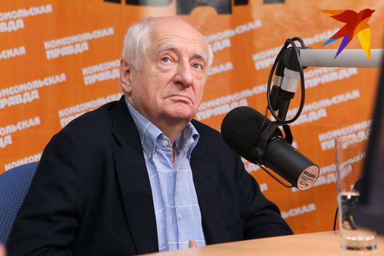 """Марк Захаров в гостях у """"Комсомолки"""""""