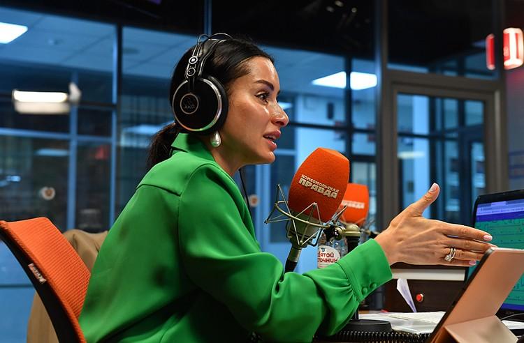 Тина Канделаки ведет на радио «КП» утреннюю программу «Доживем до понедельника»