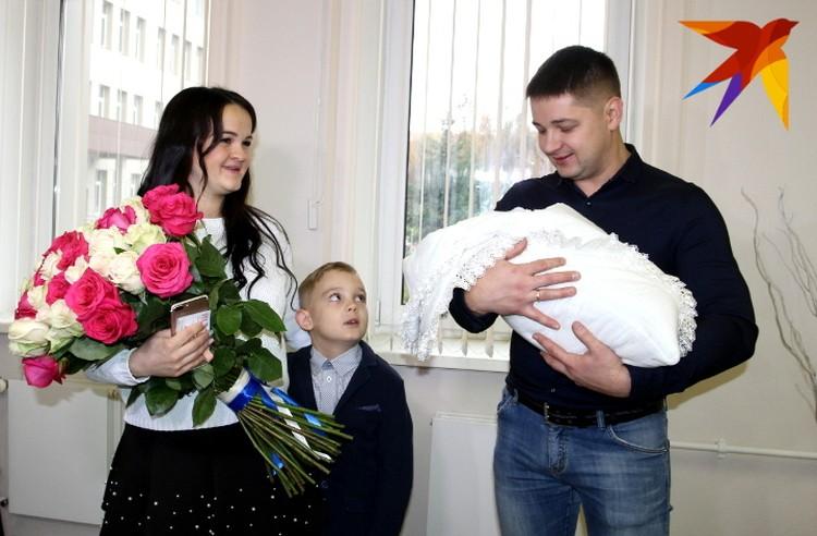 Встреча нового члена семьи