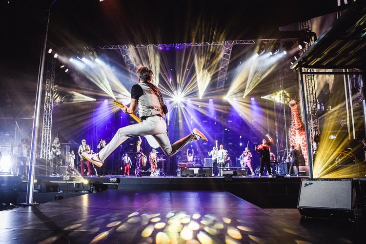 На концерте в Петербурге ожидается более 55 тысяч зрителей / Фото: Игоря Червяков