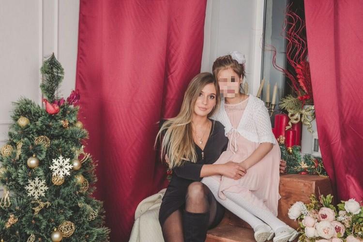Ксения с дочкой. Фото: СОЦСЕТИ