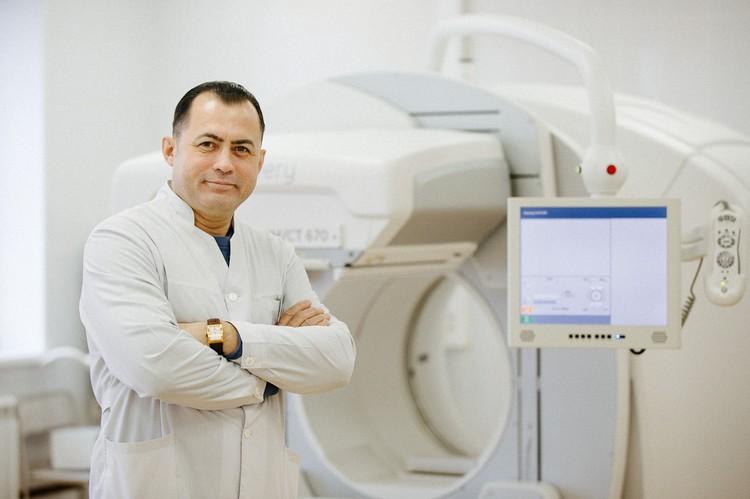 Алексей Половинкин, заведующий отделом радиоизотопной и ультразвуковой диагностики