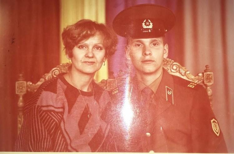 Таисия пропала по дороге в Дзержинский район. Сын в это время был в армии. Фото из семейного архива