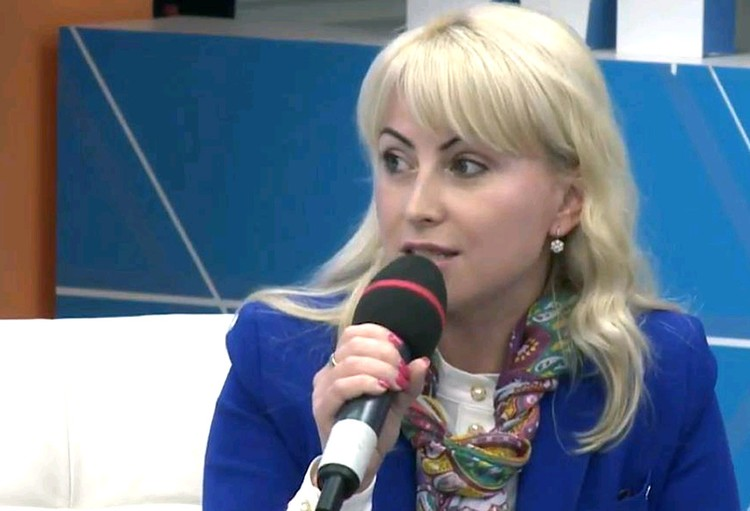 Замдиректора Московского центра развития кадрового потенциала образования Олеся Лукашук.