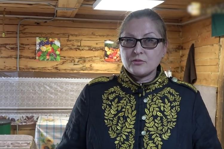 """Снежанна Еганова. Фото: кадр из д\ф """"Золотая Сейба"""""""